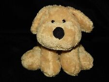 More details for chad valley brown dog soft toy golden puppy cream comforter doudou