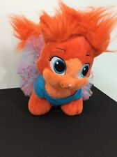 Build A Bear Rare Disney Princess Palace Pet Peppy Orange Cat With Outfit