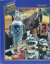 Vintage 1996 Indianapolis Indy 500 Race Program 80th Annual Buddy Lazier Win