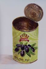 Whole Black Olives still life watercolor full sheet arches 140 cold press