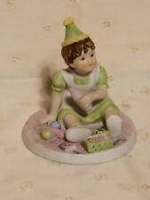 """1984 Abbie's Children """"Honey"""" Porcelain Figurine Roman Inc. by Abigail Williams"""