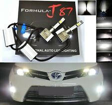 LED Kit S 80W H1 6000K White Two Bulbs Fog Light Replacement Upgrade Lamp OE