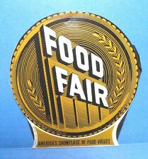 Vintage Food Fair Needle Case Book  #3