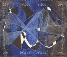 UNO-New York 653-656 Viererblock (kompl.Ausg.) gestempelt 1993 Tag des Friedens