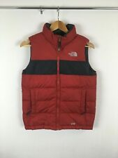 The North Face 550 Puffer Vest Boys Sz Large - Red