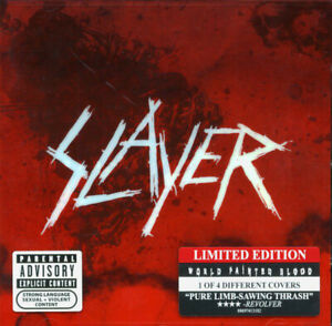 SLAYER - WORLD PAINTED BLOOD - CD