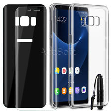 3D Front+Back Screen Protector Case for Boost Mobile Samsung Galaxy S8 G950U USA