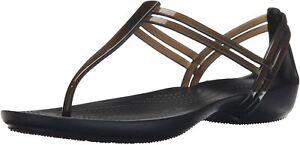 Crocs Isabella T-Strap Sandal Black