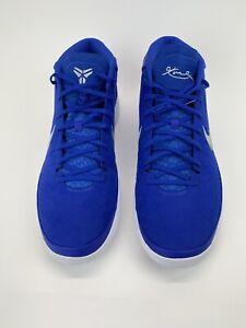 NEW Nike Kobe AD TB Game Royal White Mens Sz 17 Basketball Shoes - 942521-400