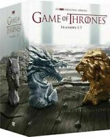 Game of Thrones: Seasons 1-7 (DVD, 2017) 34 Disc Box Set  *BRAND NEW*