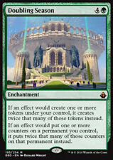 MTG DOUBLING SEASON FOIL EXC - STAGIONE DEL RADDOPPIO - BBD - MAGIC