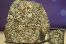 NWA 13282 L3 Meteorite 5.4 gram complete slice estimated to be late sub-type 3.8