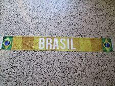 d7 sciarpa BRASILE football federation association scarf schal bufanda brasil