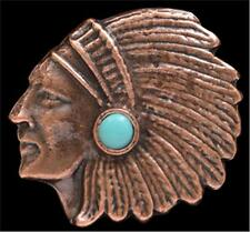 LoulaBelle Jewelry Womens Ring Indian Chief One Size Copper LR9017CTQ