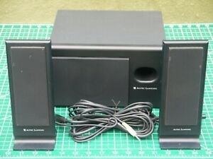 Altec Lansing VS-2121 2.1 Computer Speaker System w Subwoofer WORKS