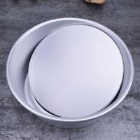 Round Chiffon Cake Pan Removable Bottom Hollow Cake Mold DIY Baking Non Stick