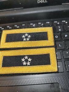 VIETNAM ERA--GEMERAL OF   ARMY 5 STAR GENERAL SHOULDER BOARD--NEW SEE STORE