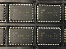 LOT OF (72) NEW MICRON MT58L256L36DS-7.5, 3.3V 9M-bit 256K x 36 7.5NS 100-TQFP