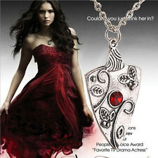 The Vampire Diaries Bonnie amulet necklace Bennet family ancient silver pendant