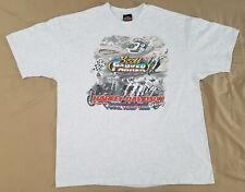 Vtg 1999 Harley Davidson Scott Parker Final Tour t-shirt size 2Xl Marion Il