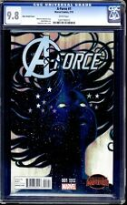 A-FORCE  #1 CGC 9.8 WHITE PAGES HANS VARIANT FIRST APPEARANCE OF SINGULARITY!