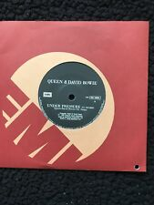"Queen & David Bowie - Under Pressure 7"" Vinyl Brazil EMI 006 64626 Misspelling"