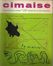 CIMAISE / ART ET ARCHITECTURE ACTUELS _NOVEMBRE -  DICEMBRE 1966 _n° 78 _ VISEUX