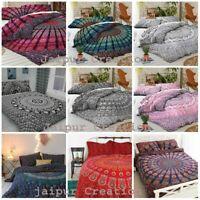 Indian Mandala King Size Duvet Cover Bedding Covers Hippie Bohemian Quilt Set