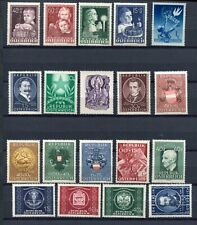 AUSTRIA 1949 MNH COMPLETE YEAR Lot 19 Stamps