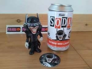 Funko Soda DC Batman Who Laughs Vinyl Figure - LE 1/1600 PX Exclusive Glow Chase