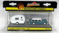 Woodland Scenics Thompsons Trailer AS5532 with caravan HO Model Trains