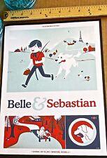 Belle and Sebastian Mini-Concert Poster Reprint for 2013 Chicago Concert 14x10