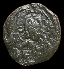 Anonymous Christ Follis, Class I, AD 1078-1081, Ornate Latin cross