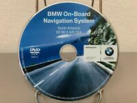 2004-2008 BMW 745i 750i 750Li 760i 760Li E65 E66 Navigation DVD U.S Canada Map