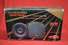 NEW PYRAMID GOLD SERIES 2-way Car Automotive Speakers (1-Pair) * NEVER USED