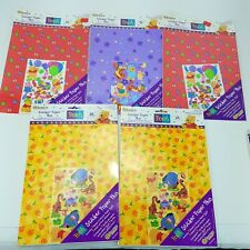 SandyLion Disney Winnie the Pooh Sticker Paper Plus Lot of 5