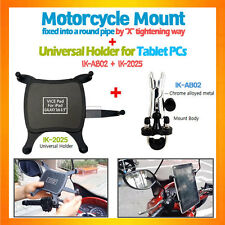 U-bolt handle bar bike motorcycle mount tablet holder iPad Air GalaxyTab8.9,9.7