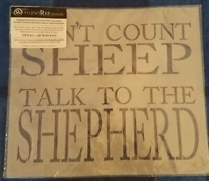 Don't Count Sheep Talk To The Shepherd 7.5 mil Mylar Stencil Reusable, Flexible