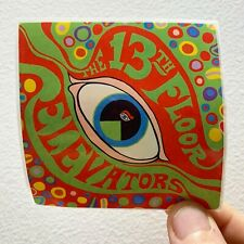 "The Psychedelic Sounds of The 13th Floor Elevators 3""x3""  EP Album Cover Sticker"