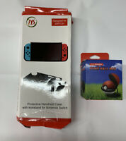 Nintendo Switch Protective Handheld Case with kickstand Pokémon ball bundle