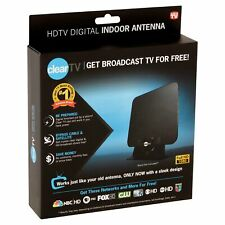 ClearTV X-72 HDTV Digital Indoor Antenna AS SEEN ON TV Stand, Wall Window Mount