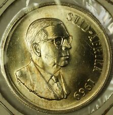 1969 South Africa Suid- Afrika 1 Rand Brilliant Uncirculated Silver Coin