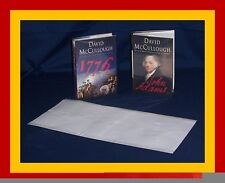 "50 - 9"" x 19"" Brodart ARCHIVAL Fold-on Book Jacket Covers - Super Clear Mylar"
