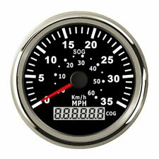 85mm Marine GPS Speedometer Speed Odometer Gauge for Car Truck Boat 60km/h 35MPH