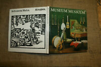 Sammlerbuch historische Musikinstrumente,Harfe,Hammerflüge, Drehleier,Orgel 1981