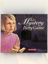 American Girl Kit Mystery Party Game Host A Mystery Party