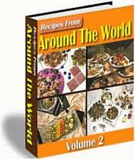 Recipes From Around The World Ebook On CD $5.95 Plus Resale Rights Free Shipping