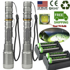 Tactical Police 900000Lumens T6 LED 5 Modes Flashlight Aluminum Zoom Torch