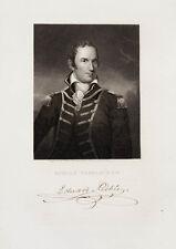 1835 Officer Edward Preble Steel engraving portrait by Kelly