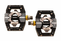 Shimano Saint PD-M820 Pedals Clipless Black/Silver/Gold - Good